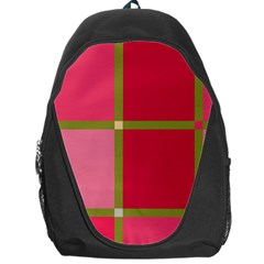 Red and green Backpack Bag