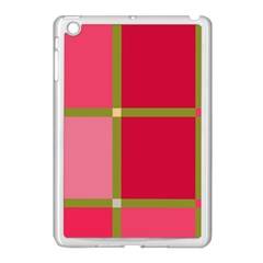 Red and green Apple iPad Mini Case (White)