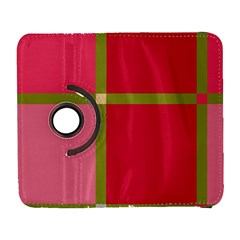 Red and green Samsung Galaxy S  III Flip 360 Case
