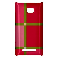 Red and green HTC 8X