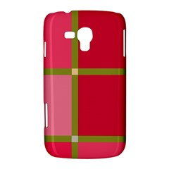 Red and green Samsung Galaxy Duos I8262 Hardshell Case