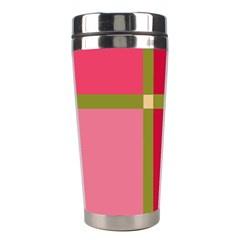 Red and green Stainless Steel Travel Tumblers
