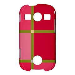 Red and green Samsung Galaxy S7710 Xcover 2 Hardshell Case