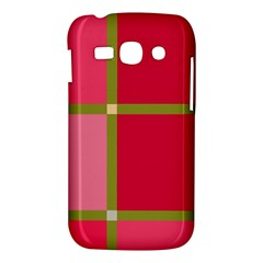 Red and green Samsung Galaxy Ace 3 S7272 Hardshell Case