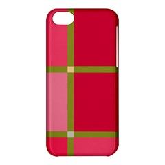 Red and green Apple iPhone 5C Hardshell Case