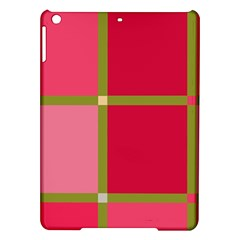 Red and green iPad Air Hardshell Cases
