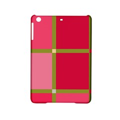Red and green iPad Mini 2 Hardshell Cases