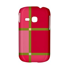 Red and green Samsung Galaxy S6310 Hardshell Case
