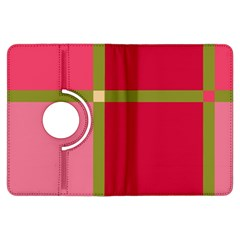Red and green Kindle Fire HDX Flip 360 Case