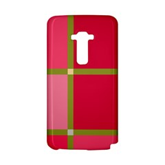 Red and green LG G Flex