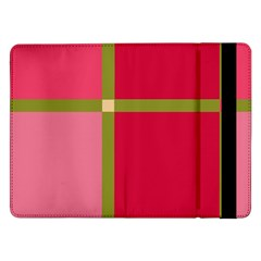 Red and green Samsung Galaxy Tab Pro 12.2  Flip Case
