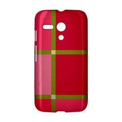 Red and green Motorola Moto G