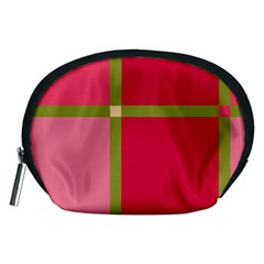 Red and green Accessory Pouches (Medium)