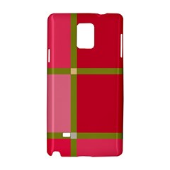 Red and green Samsung Galaxy Note 4 Hardshell Case