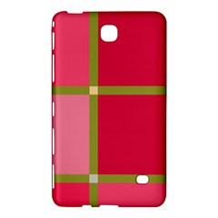 Red and green Samsung Galaxy Tab 4 (8 ) Hardshell Case
