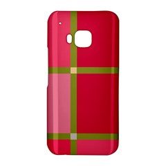 Red and green HTC One M9 Hardshell Case