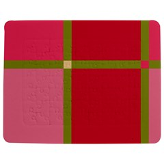 Red and green Jigsaw Puzzle Photo Stand (Rectangular)