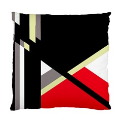 Red and black abstraction Standard Cushion Case (One Side)