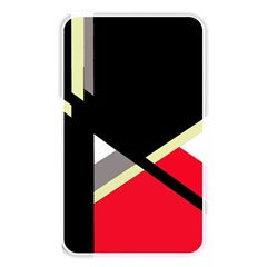 Red and black abstraction Memory Card Reader