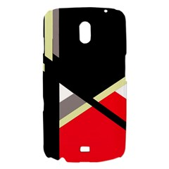 Red and black abstraction Samsung Galaxy Nexus i9250 Hardshell Case