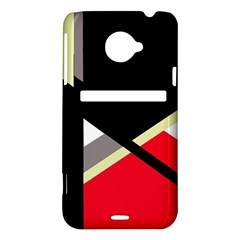Red and black abstraction HTC Evo 4G LTE Hardshell Case
