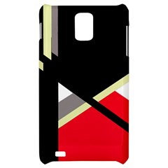 Red and black abstraction Samsung Infuse 4G Hardshell Case