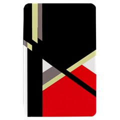 Red and black abstraction Kindle Fire (1st Gen) Hardshell Case