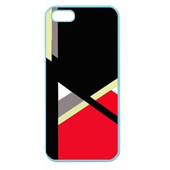 Red and black abstraction Apple Seamless iPhone 5 Case (Color)