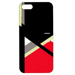 Red and black abstraction Apple iPhone 5 Hardshell Case with Stand