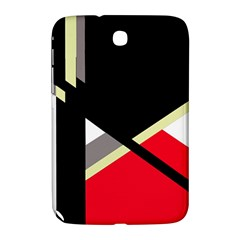 Red and black abstraction Samsung Galaxy Note 8.0 N5100 Hardshell Case