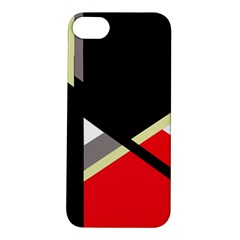 Red and black abstraction Apple iPhone 5S/ SE Hardshell Case