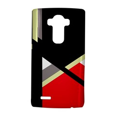 Red and black abstraction LG G4 Hardshell Case