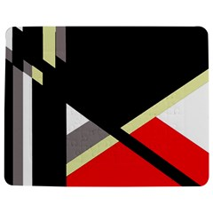 Red and black abstraction Jigsaw Puzzle Photo Stand (Rectangular)