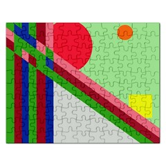Decorative abstraction Rectangular Jigsaw Puzzl