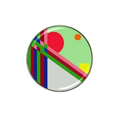 Decorative abstraction Hat Clip Ball Marker