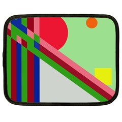 Decorative abstraction Netbook Case (XL)