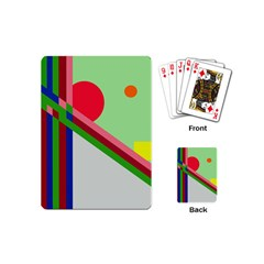Decorative abstraction Playing Cards (Mini)