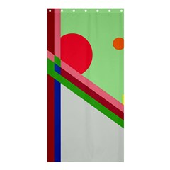 Decorative abstraction Shower Curtain 36  x 72  (Stall)