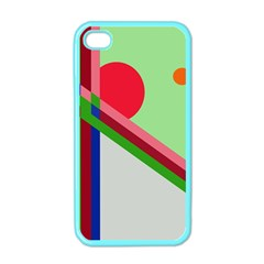 Decorative abstraction Apple iPhone 4 Case (Color)