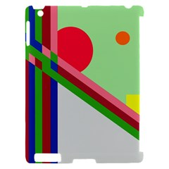 Decorative abstraction Apple iPad 2 Hardshell Case (Compatible with Smart Cover)