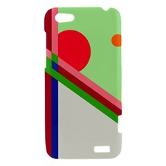 Decorative abstraction HTC One V Hardshell Case