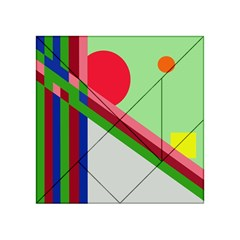Decorative abstraction Acrylic Tangram Puzzle (4  x 4 )