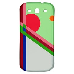Decorative abstraction Samsung Galaxy S3 S III Classic Hardshell Back Case