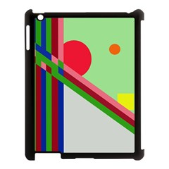 Decorative abstraction Apple iPad 3/4 Case (Black)