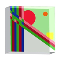 Decorative abstraction 5  x 5  Acrylic Photo Blocks