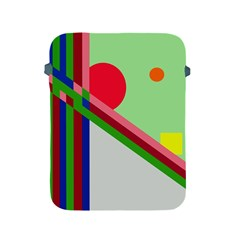 Decorative abstraction Apple iPad 2/3/4 Protective Soft Cases