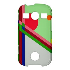 Decorative abstraction Samsung Galaxy S7710 Xcover 2 Hardshell Case