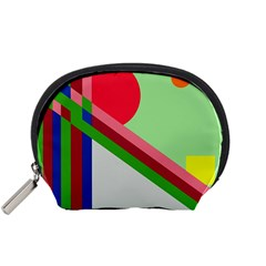 Decorative abstraction Accessory Pouches (Small)