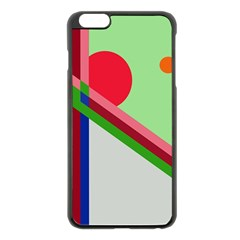 Decorative abstraction Apple iPhone 6 Plus/6S Plus Black Enamel Case