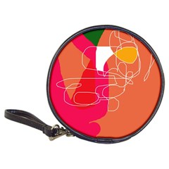 Orange abstraction Classic 20-CD Wallets